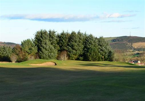 View into the 1st Green