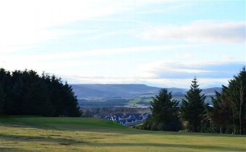 View into the 3rd Green from the plateau